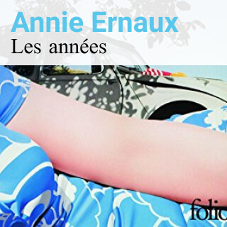 Cover of Les années by Annie Ernaux